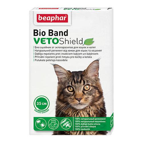 Beaphar Bio Band VETOShield БИО Ошейник от эктопаразитов для кошек, 35см