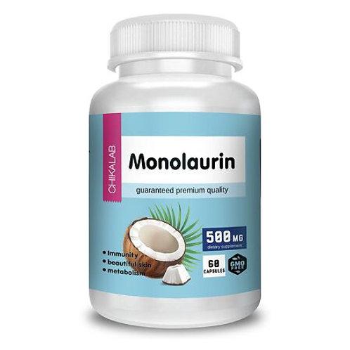 Chikalab Монолаурин 500 мг капсулы, 60 шт.