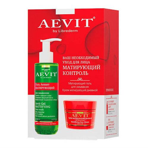 Aevit by Librederm набор для ухода за лицом, матирующий контроль