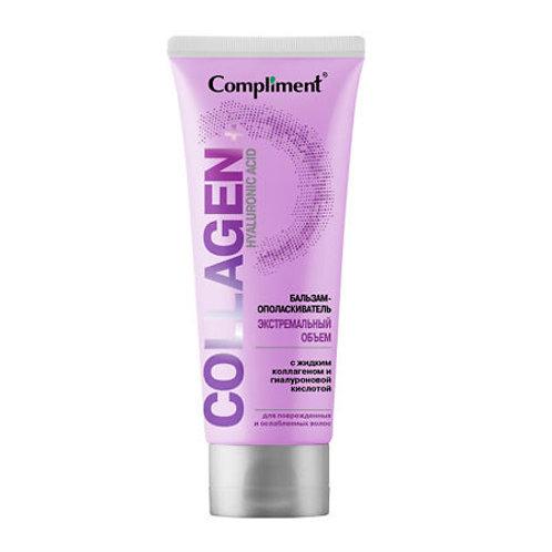 Compliment Collagen+Hyaluronic ACID Бальзам-опаласкиватель для волос Экстремал..