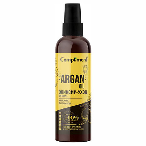 Compliment Rich Hair Care Эликсир-уход для волос Интенсивное восстановление Ar..
