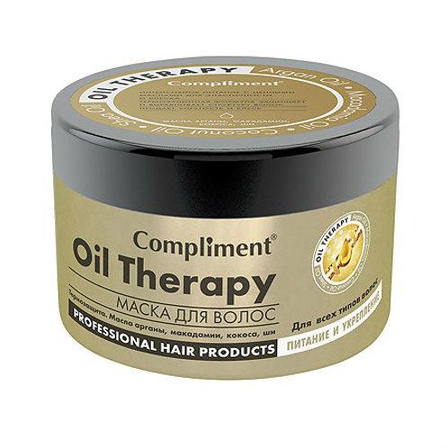Compliment Маска для волос Oil Therapy для всех типов волос Питание и укреплен..