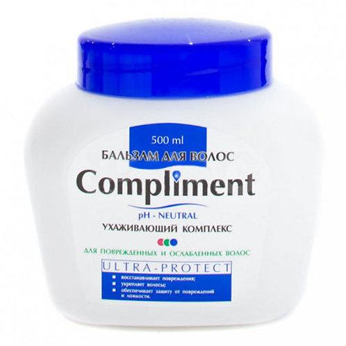 Compliment Бальзам для ослабленных волос ULTRA-PROTECT, 500мл