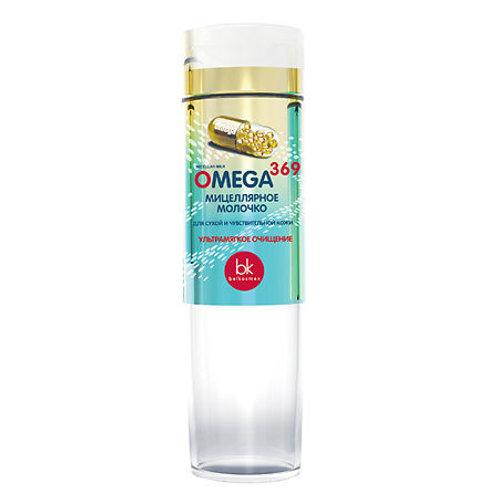 BelKosmex Omega 369 Мицеллярное молочко для сухой и чувствительной кожи, 200 г