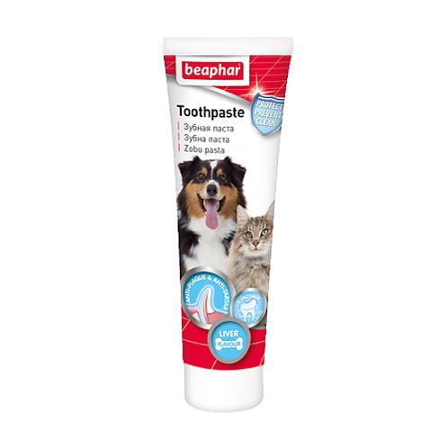 Beaphar Зубная паста со вкусом печени для собак и кошек, 100 г