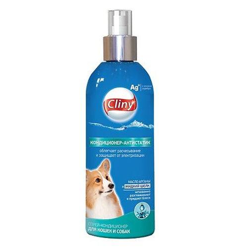 Cliny Кондиционер-антистатик для кошек и собак, 200 мл