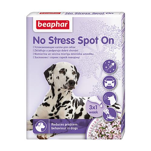 Beaphar No Stress Spot OnКапли успокаивающие для собак, 3 пипетки