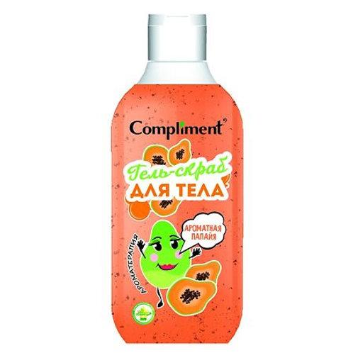 Compliment Гель-скраб для тела Ароматная папайя, 300 мл