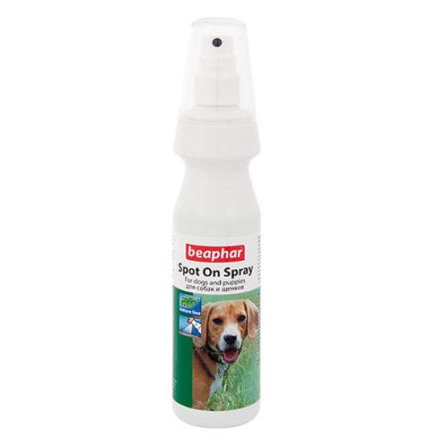 Beaphar Spot On Spray Спрей от блох,клещей и комаров для собак, 150 мл