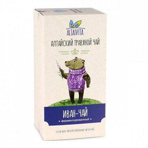 Altaivita Травяной чай Иван-чай ферментированный в пирамидках, 40 г