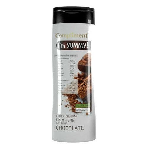 Compliment I'm Yummy! Увлажняющий крем-гель для душа Chocolate, 250мл
