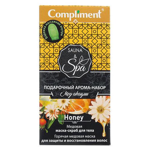 Compliment Подарочный набор №1660 Sauna & SPA Мед акации, 1 уп.