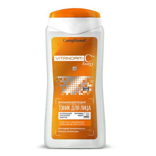 Compliment Vitanorm C+Energy Витаминизирующий тоник для лица, 200мл
