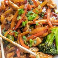 Chicken stir fry #keto#mealprep #mealpre