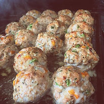 Chicken meatballs #healthyfood #keto #me