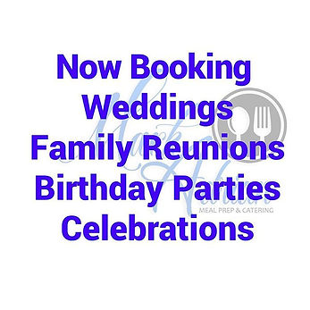 Now booking for all celebrations. Call, text, or email me for a quote. #chefmarkadrian #at
