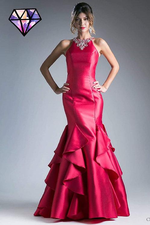 Vestido fuchsia Sirena