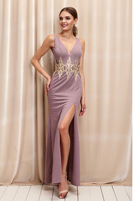 Vestido Mauve