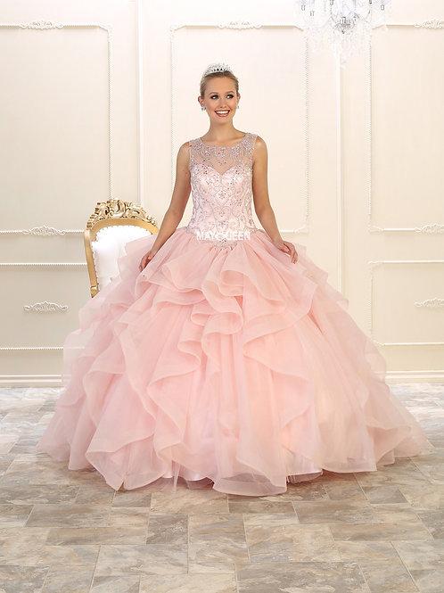 Vestido Blush Quinceañera