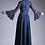 Thumbnail: Vestido Azul Marino con mangas