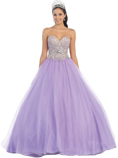 Vestido XV Lila
