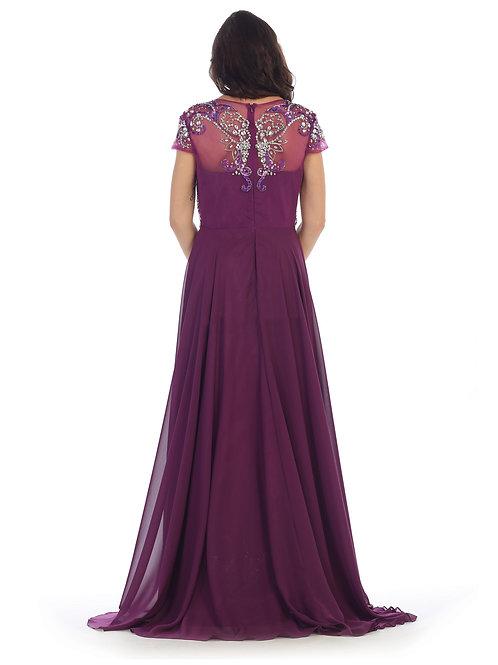 Vestido Color uva