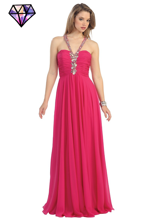 Vestido Fuchsia