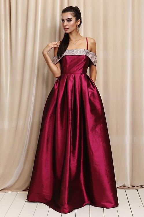 Vestido cereza princesa