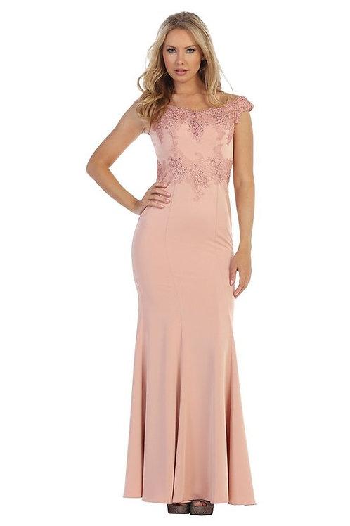 Vestido Blush Rosa