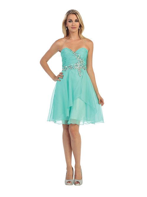 Vestido Corto Aqua