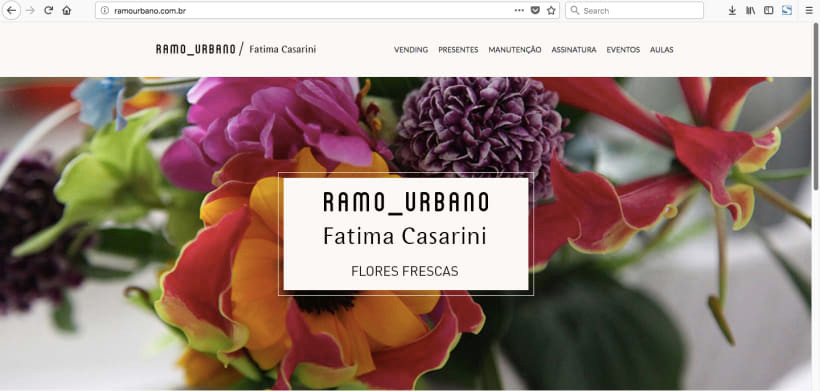 website _ ramo urbano