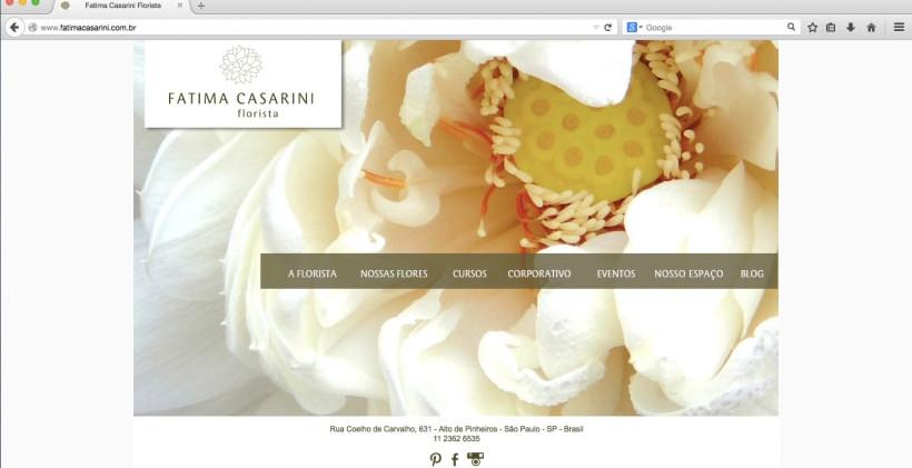 Website Fatima Casarini