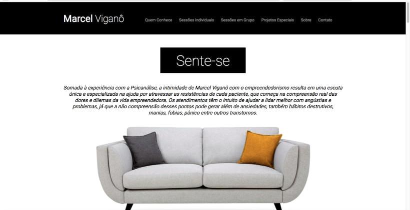Website Analista Marcel Vigano