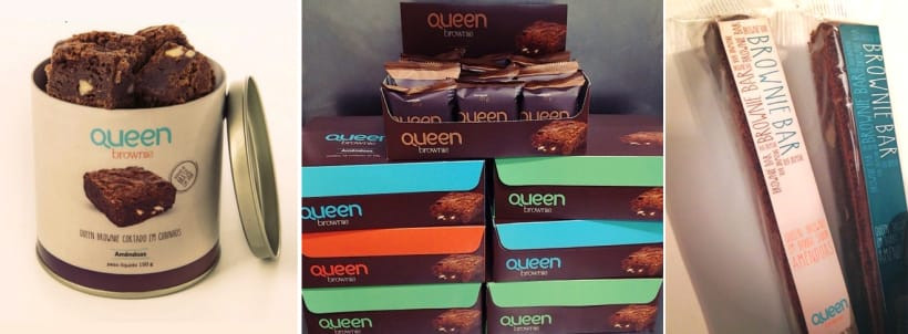 Embalagens Queen Brownie