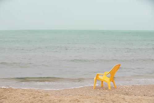 תמונת נוף - כסא בים 2857