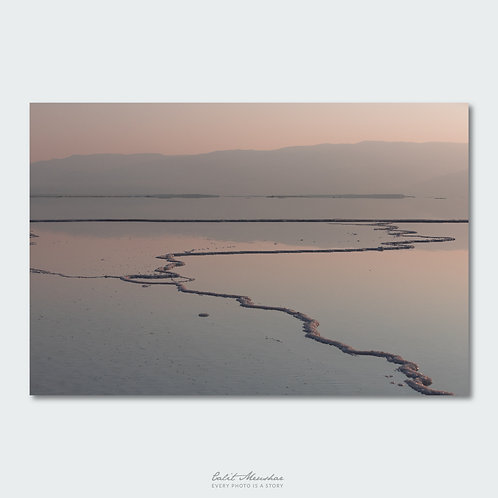 ים המלח בזריחה