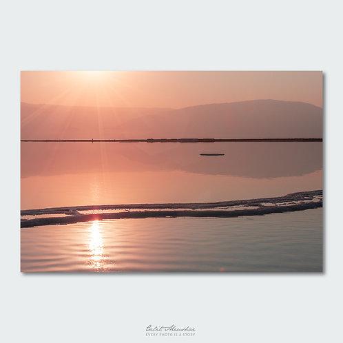 זריחה בים המלח, תמונה לסלון
