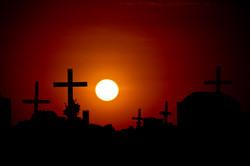 Cementerio en las Lines de Nasca, Pe