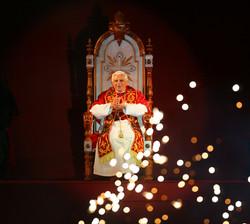 Papa Benedicto en Brasil