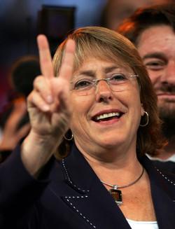 Chile´s president M. Bachelet