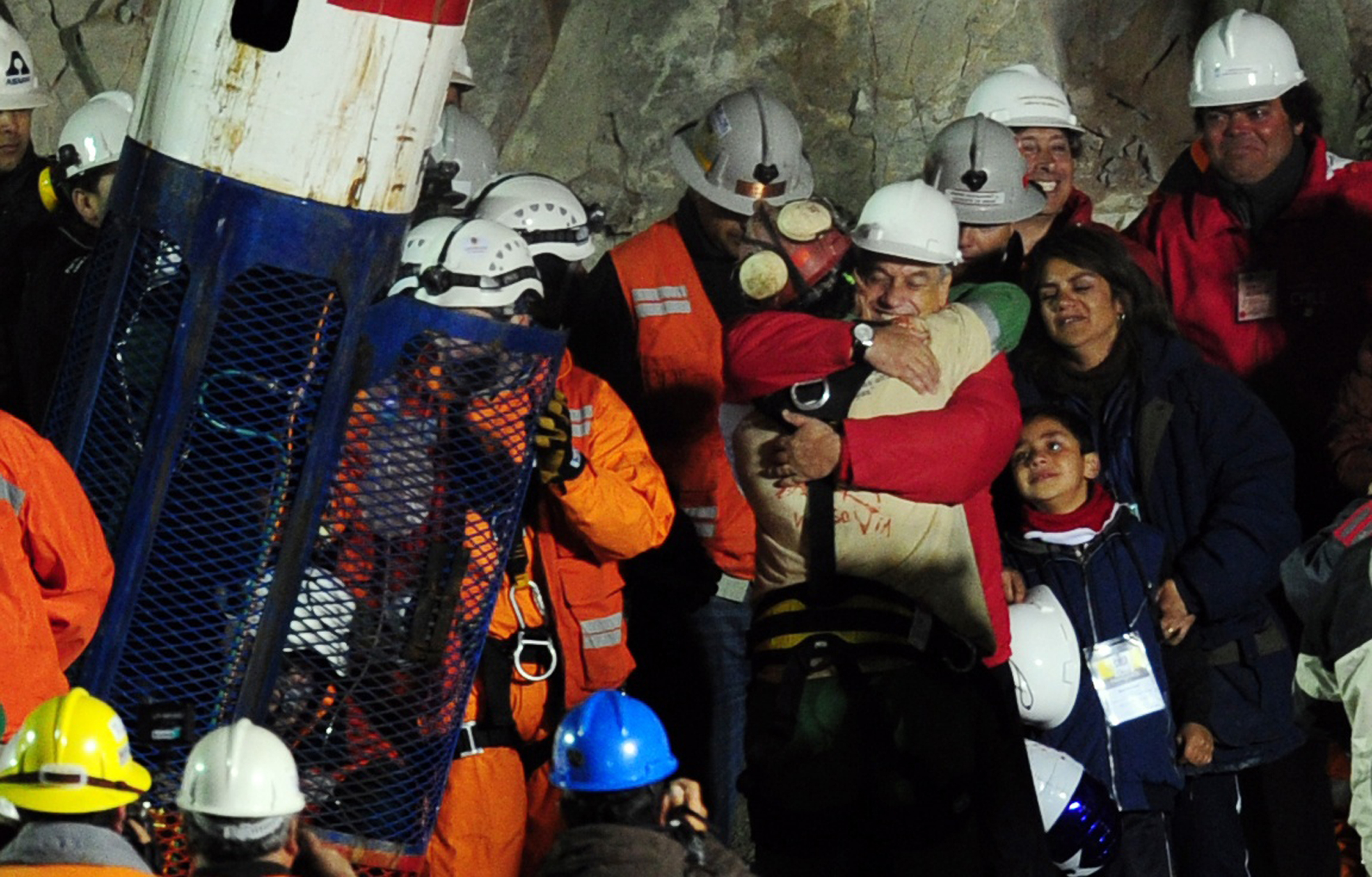 Rescate 33 mineros Chile