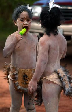 Isla de Pascua- Fiesta del Tapati