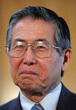 Peru´s Former president A. Fujimori