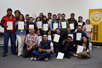 TALLER DE AGENCIAS INTERNACIONALES DE NOTICIAS Para Fotoperiodistas en Quito-Ecuador. Dictado por Ma