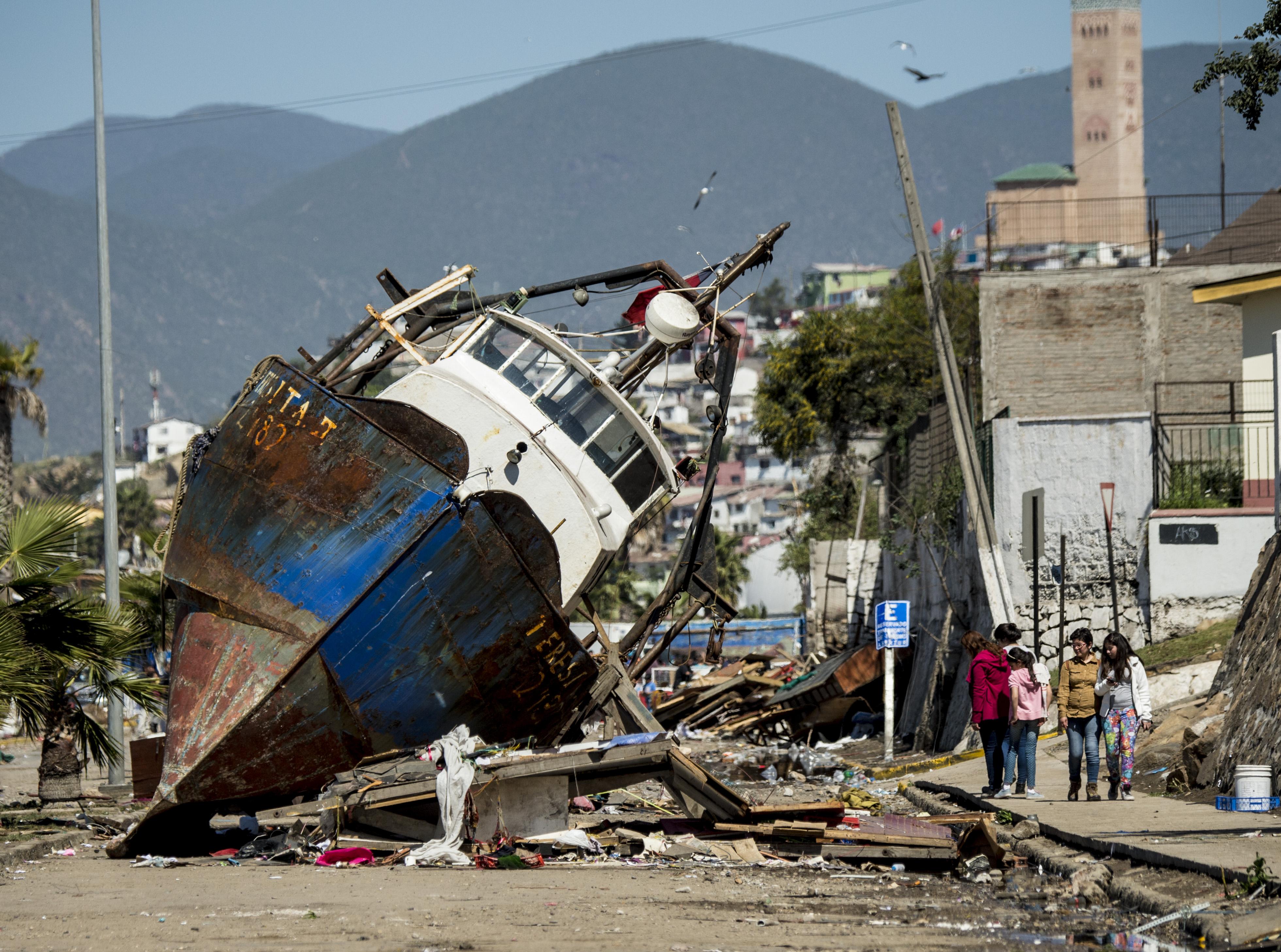 Tsunami en Chile