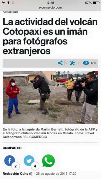 REPORTAJE DIARIO EL COMERCIO