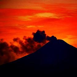 Erupción Volcán Villarrica