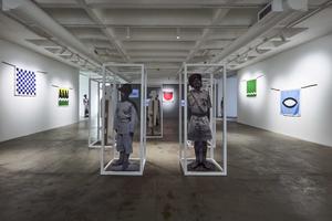 From Nyasaland Analysand, 2019 exhibition of Samson Kambalu's work at Goodman Gallery Johannesburg, image courtesy ofGoodman Gallery
