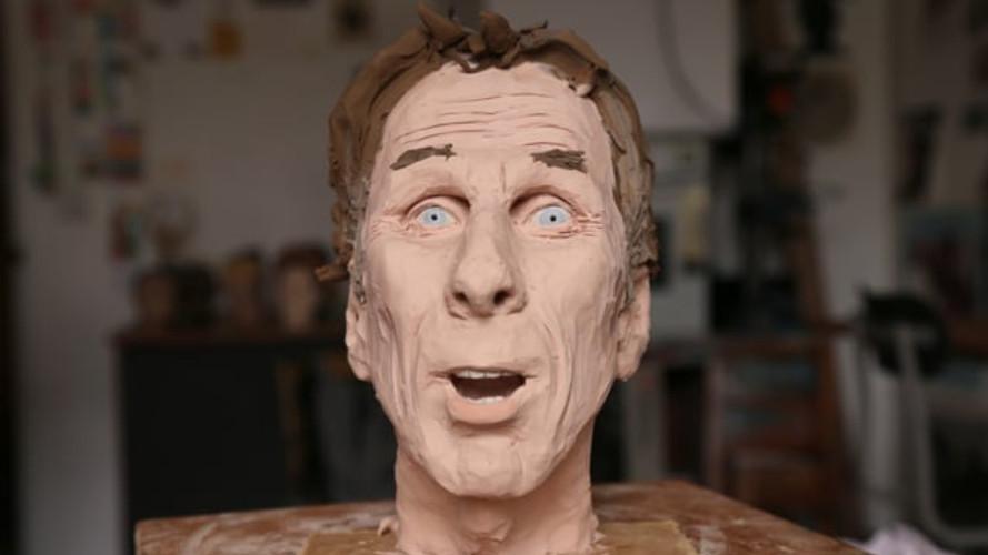 Wilfrid sculpts Will