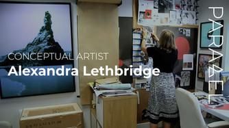 Bombarded by Visual Imagery -Alexandra Lethbridge